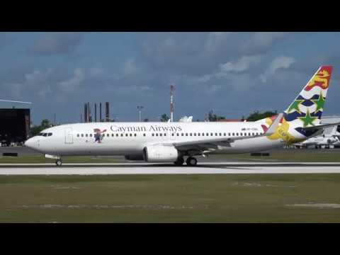 Beautiful Cayman Airways Boeing 737-800 Departing Grand Cayman