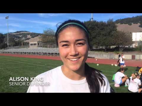 Maria Carrillo goalkeeper Claire Howard
