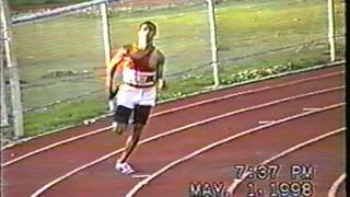 4x400m Relay at Lonestar Conference in Duncan, OK 1998