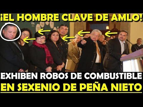 ¡EXHIBEN A PEÑA! HOMBRE CLAVE DE AMLO DA INFORMES POR ROBO DE HUACHICOLEO - ESTADISTICA POLITICA