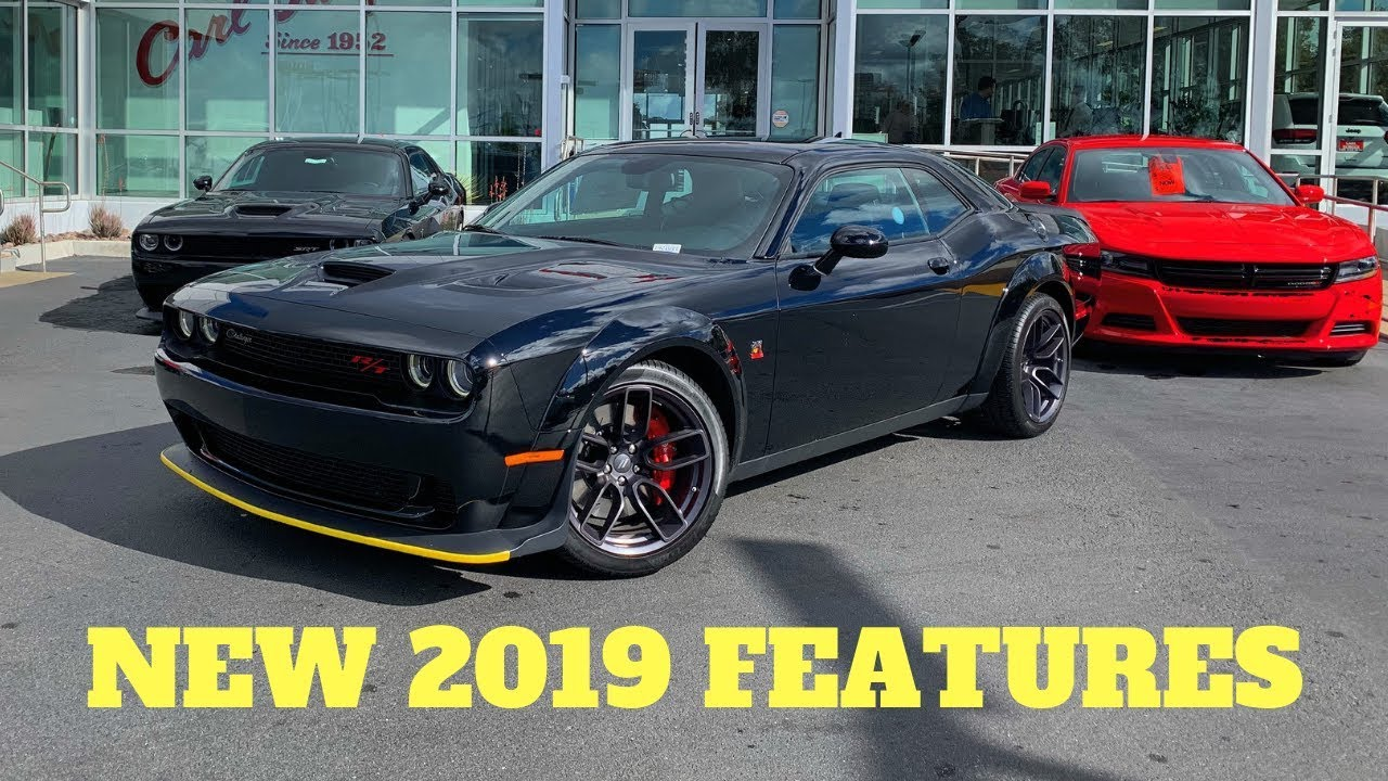 2019 dodge challenger scat pack widebody  manual  full review