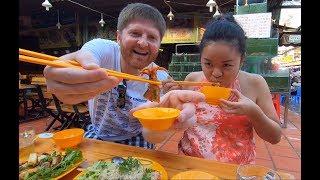 """Ăn chơi ở PHÚ QUỐC: Dạo chợ đêm cho anh xã ăn hải sản """"lạ"""" 😀 Lên núi uống cà phê ngắm cảnh #121"""