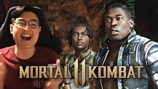 Mortal Kombat 11 - JAX & NEW Gameplay Reveal Trailer!! [REACTION]