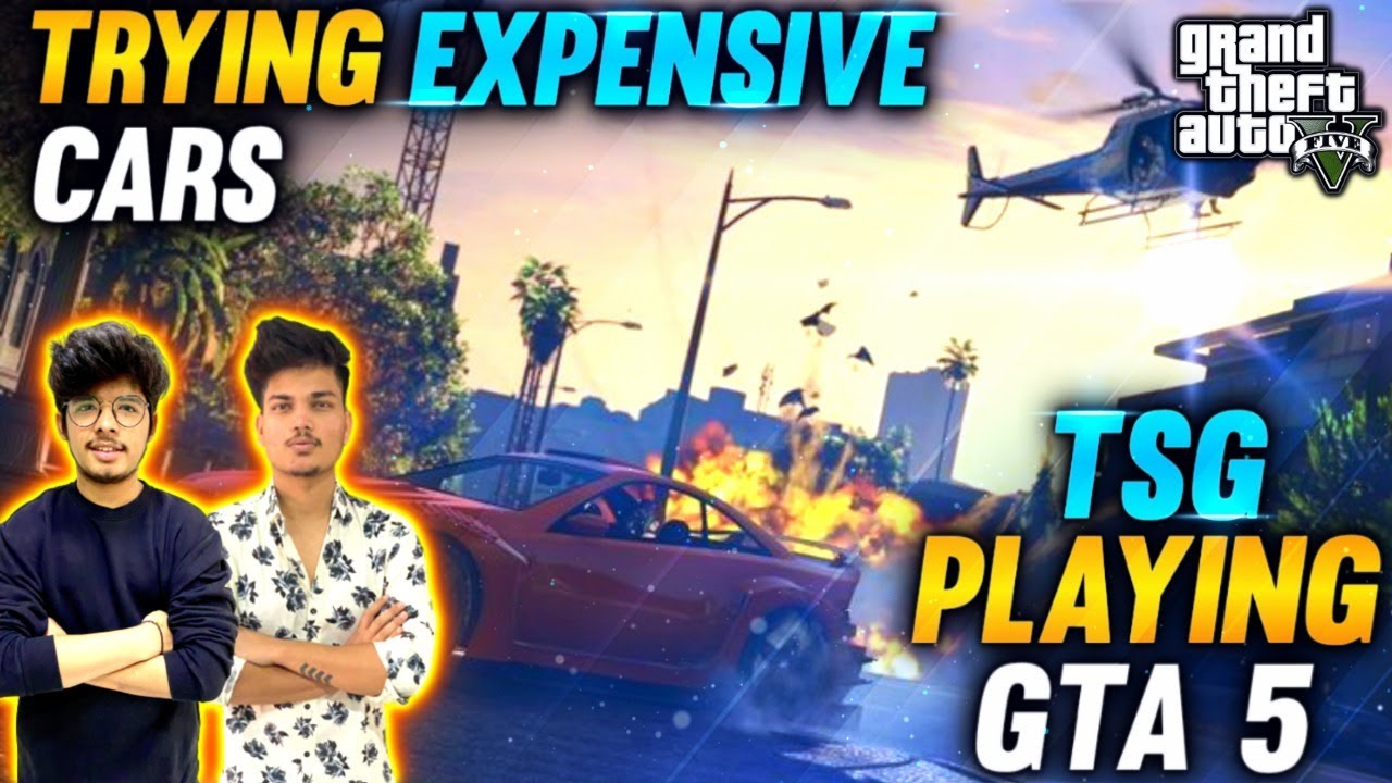 PLAYING  GTA V - TWO SIDE GAMERS