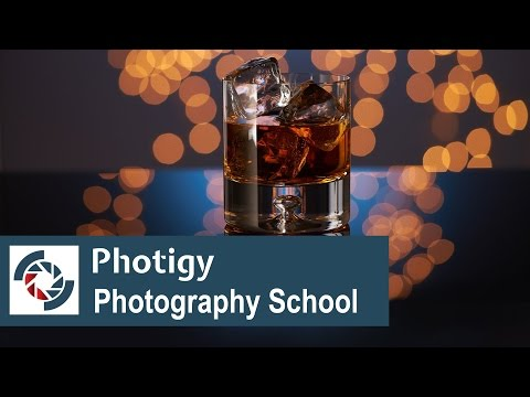How to shoot glass of whiskey with an amazing bokeh ian the