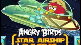 ANGRY BIRDS Star Wars GAMES ONLINE. Гонки Злые птички Звездные войны ІГРИ ОНЛАЙН