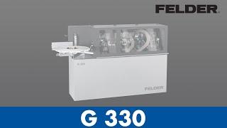 FELDER® - Edgebander G330 - Set Up (English)