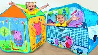 Alisa and magic playhouse