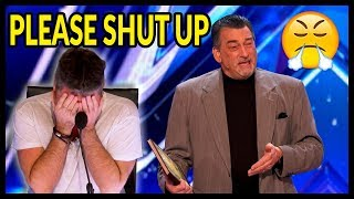 """Top 10 """"WORST AUDITIONS & Acts Go WRONG"""" on America's"""