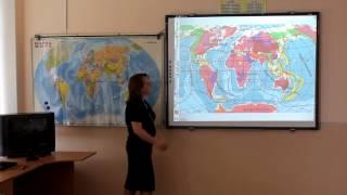Приёмы работы с интерактивной доской на уроках географии (сш 55 г.Минска)