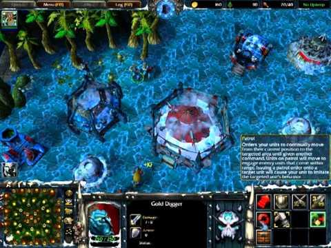 Die macht des feuers gameplay trailer (unfinished warcraft iii.