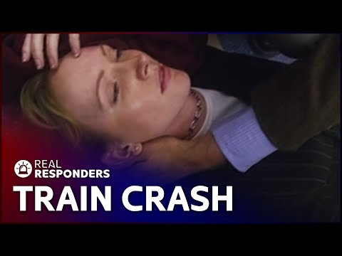 Racing to Save Passengers Struck by Freight Train | Critical Rescue | Real Responders