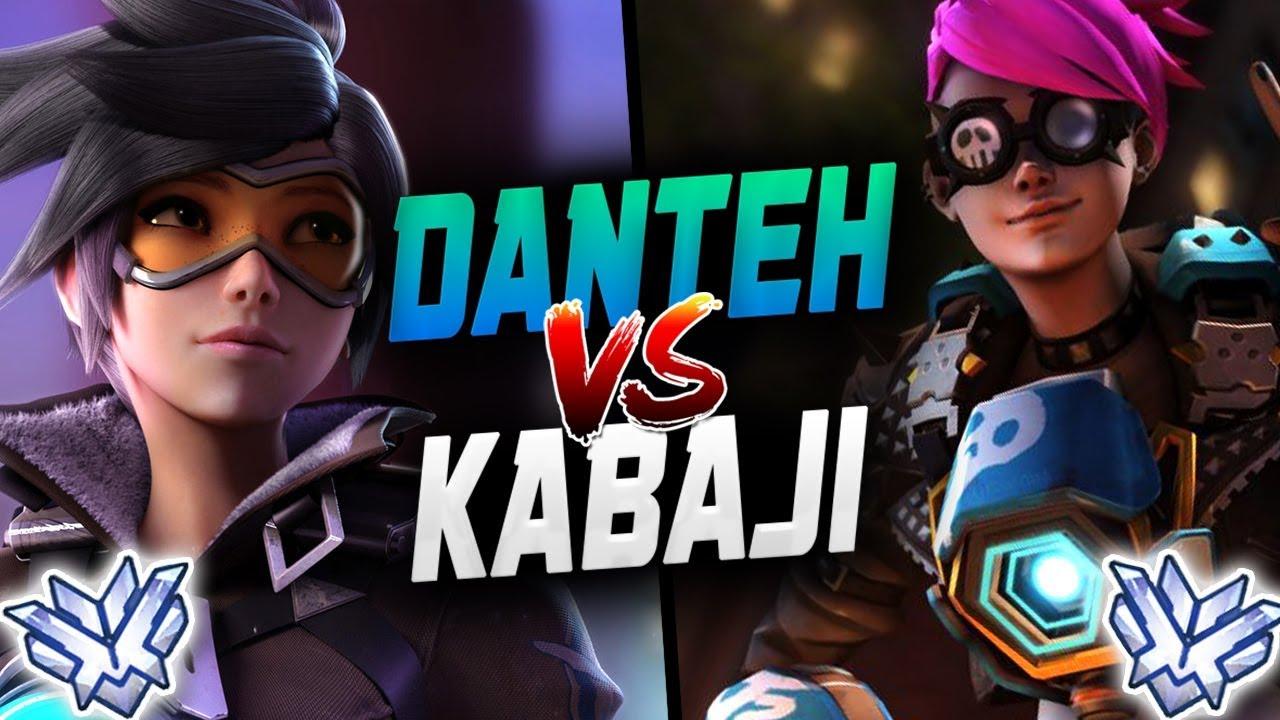 DANTEH PRO TRACER VS KABAJI TRACER! [ OVERWATCH SEASON 18 TOP 500 ] thumbnail