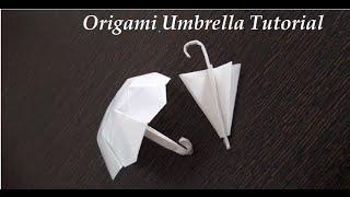How to Make a Paper Umbrella - Origami