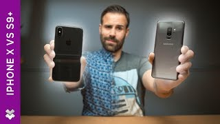 Samsung Galaxy S9+ vs iPhone X Review - Which One is Better!?