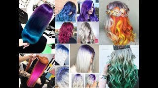 2018 Spring Hair Color Trends, New Hair Color Transformation 2018 & 2019 Hairstyles