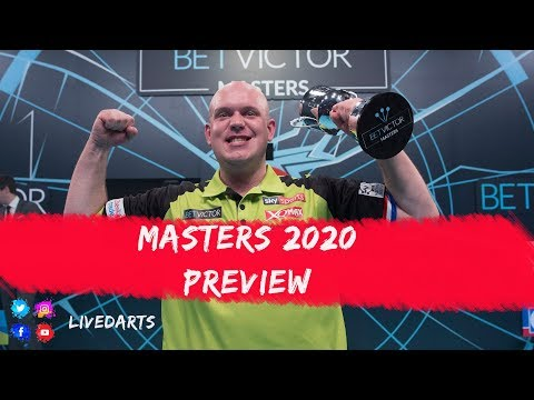 PDC Masters 2020 Preview and Predictions: Who will claim the first silverware of the season?