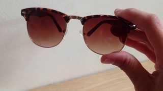 Comprei Mostrei: óculos de sol Thumbnail