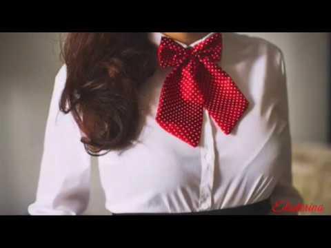Бабочка-галстук женская. Шить легко.