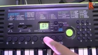Casio SA-46 Demo