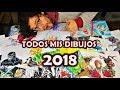 TREMENDO LOGRO 2018!! Todos los Dibujos del canal | Dibujos de DibujAme Un Rewind #1