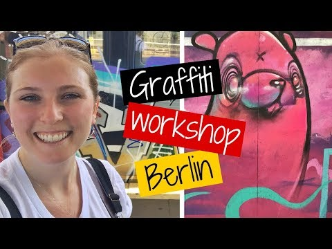 Learning how to be a GRAFFITI artist in BERLIN 🇩🇪
