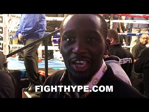 """TERENCE CRAWFORD REACTS IMMEDIATELY AFTER LOMACHENKO STOPS RIGONDEAUX: """"HE QUIT"""""""