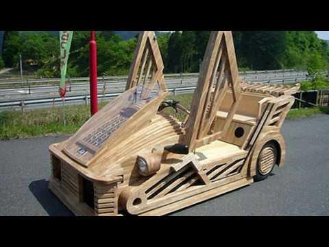 Смотреть видео самых необычных авто в мире