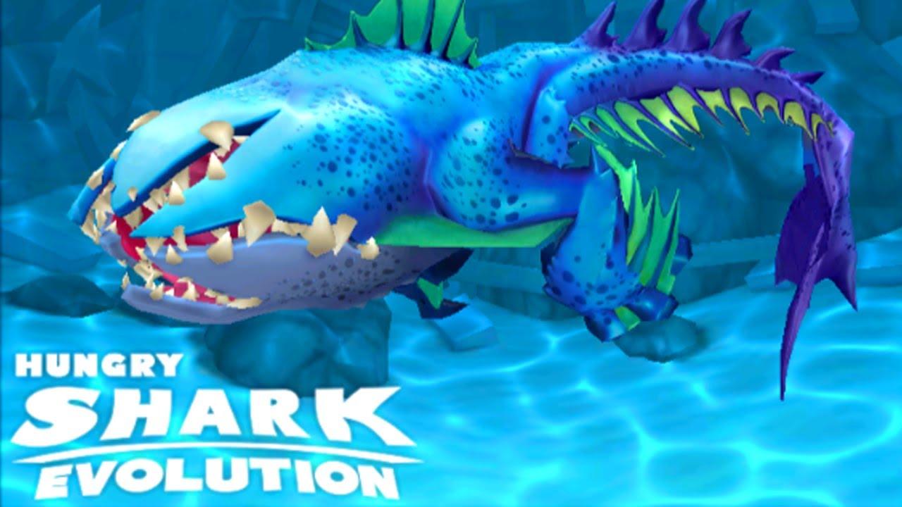 New Abysshark Shark Unlocked Hungry Shark Evolution Youtube