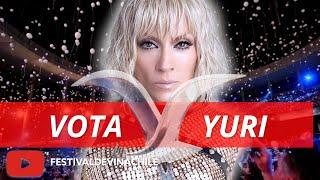 VOTA YURI : Fans votan por el artista más popular de la historia del #FESTIVALDEVIÑA