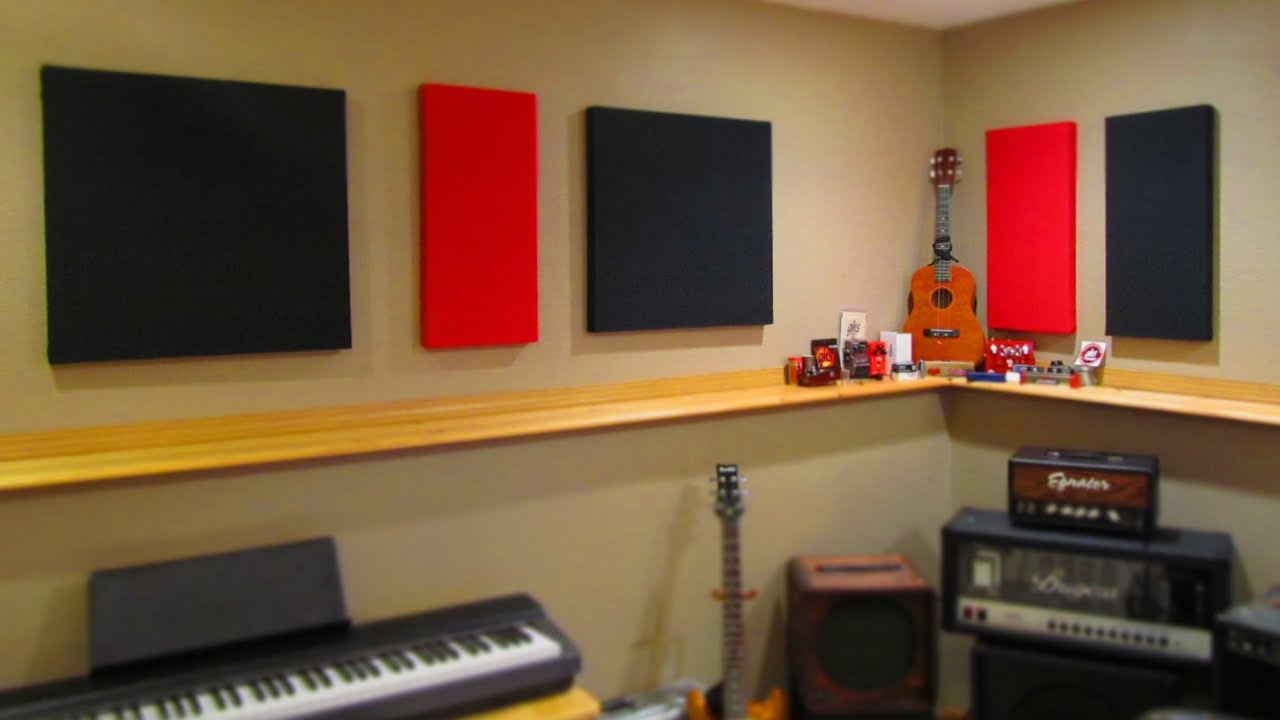 diy acoustic treatment panels on the cheap (without insulation