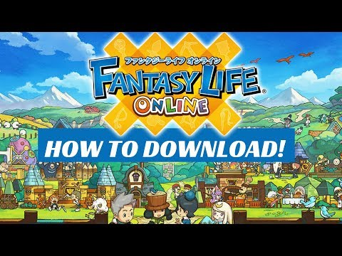 fantasy life online apk mod