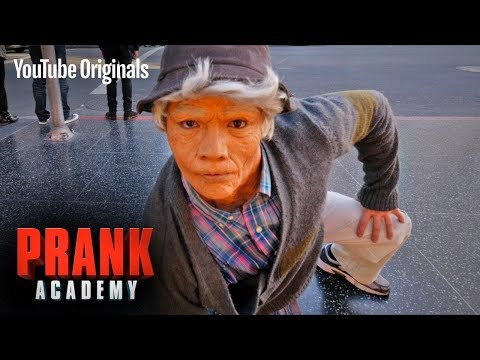 OLD MAN BREAKDANCE PRANK!!! ft DTRIX  Prank Academy  Episode 6
