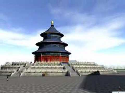 the 3D temple of heaven