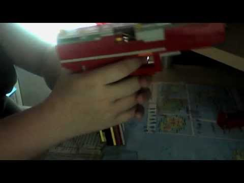 Comment faire un pistolet en lego tr s simple youtube - Comment fabriquer un pistolet ...