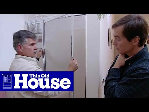 How to Fix a Sticky Shower Door - This Old House