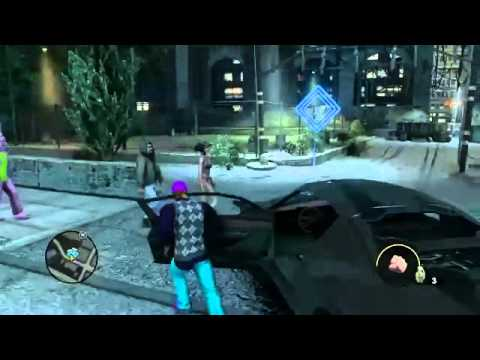 Let's Play Saints Row The Third hd Part 6 Insurance Fraud