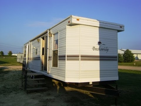 Breckenridge park model mobile home