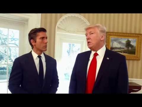 ABC News Anchor David Muir Interviews President Trump | the full text of the interview