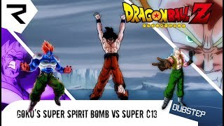 [Husum Shoutout] Goku Super Spirit Bomb vs Super Android 13 |Dubstep Remix by Rowster Network