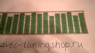 Обзор эквалайзера на стекло автомобиля зеленый от avto-tuningshop.ru(Видео обзор автомобильного эквалайзера на стекло цвет: зеленый, от нашего сайта http://avto-tuningshop.ru Автомобильны..., 2013-04-04T17:18:46.000Z)