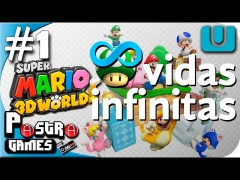 VIDAS INFINITAS!!! - Super Mario 3D World