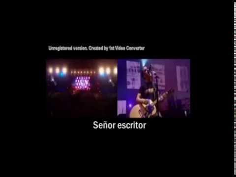 Stereophonics - Mr Writer (live) SUBTITULADA