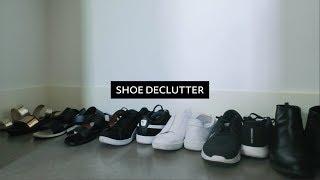 Shoe Declutter  |  Minimalist Wardrobe