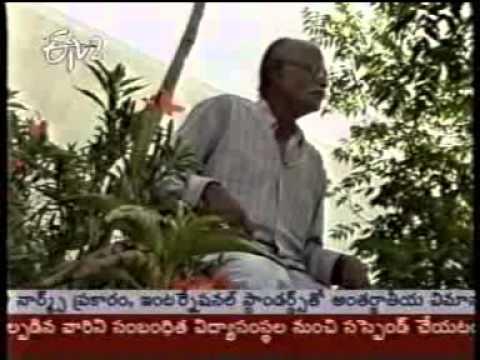 Padmashree Dr  T  Venkadapathy Reddiar   E TV Interview