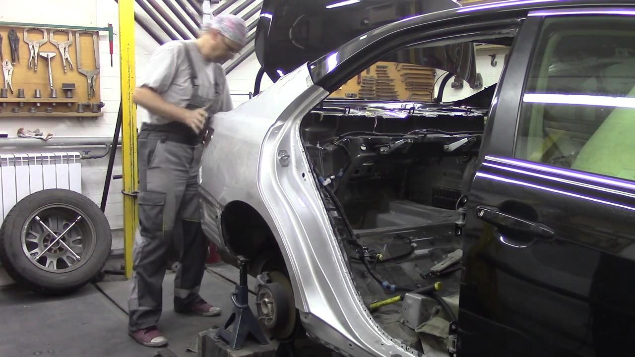 Кузовной ремонт. Опять Камри, сам процесссс))) Body repair.