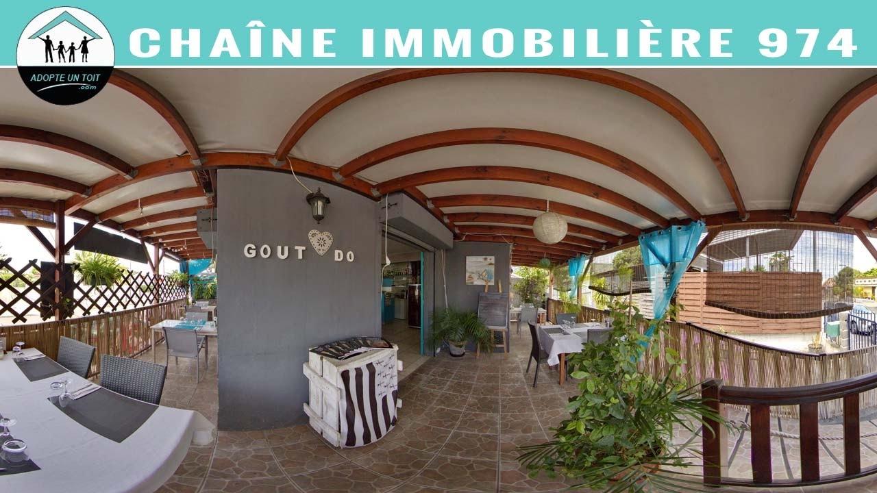 Saint paul vente restaurant 974 m17247 adopte un for Agence immobiliere 974 reunion