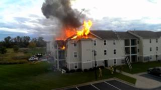 Apartment Fire at Landings at Chandler Crossing 10-5-2014