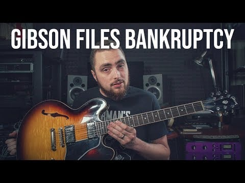 Gibson Files Chapter 11 Bankruptcy || ITS ACTUALLY HAPPENING! Mp3