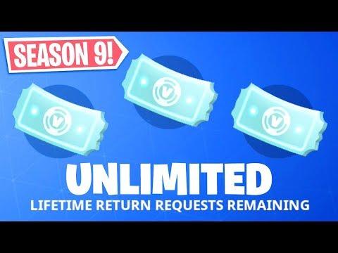FINALLY.. UNLIMITED REFUNDS In Fortnite.. (Season 9)